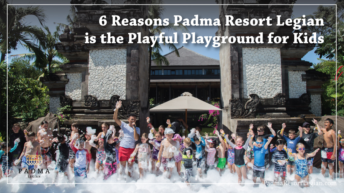 Kids Foam Party at Padma Resort Legian