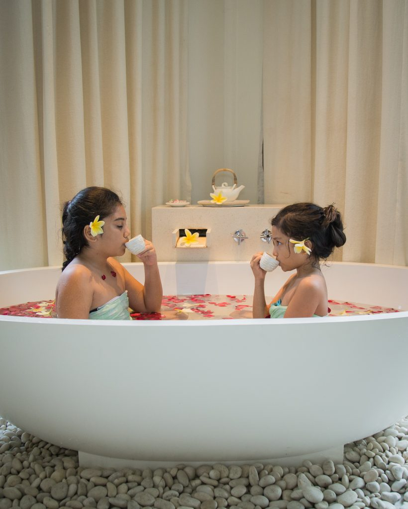 Spa for Kids at Padma Resort Legian