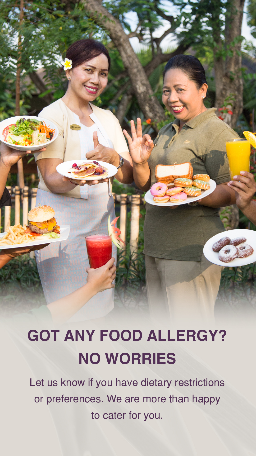 Dietary Campaign at Padma Resort Legian