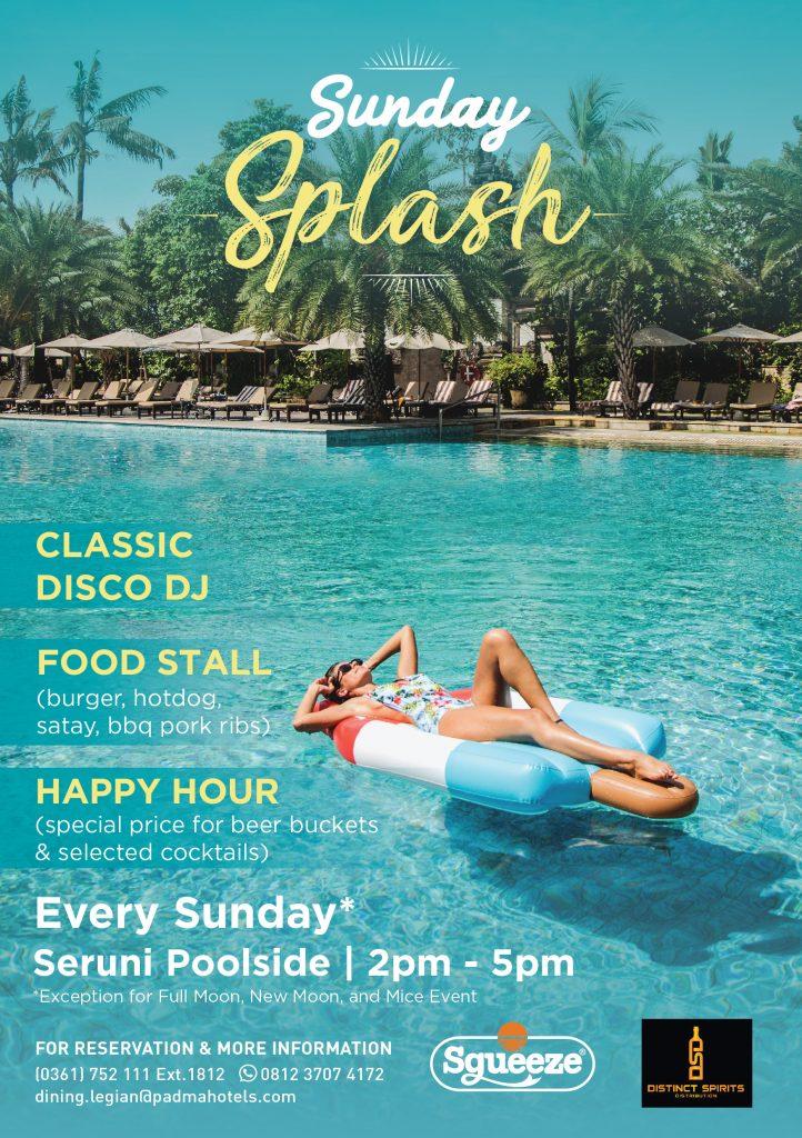 Sunday Splash at Padma Resort Legian