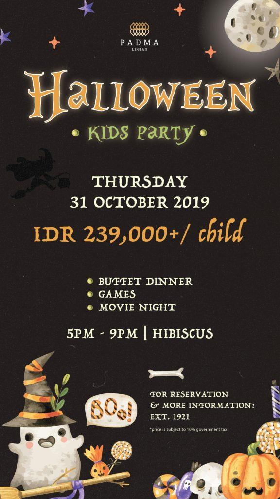 Padma Resort Legian - Halloween
