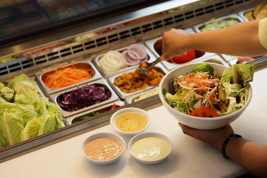 Create Your Own Salad - Padma Resort Legian