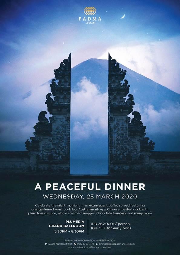 A Peaceful Dinner