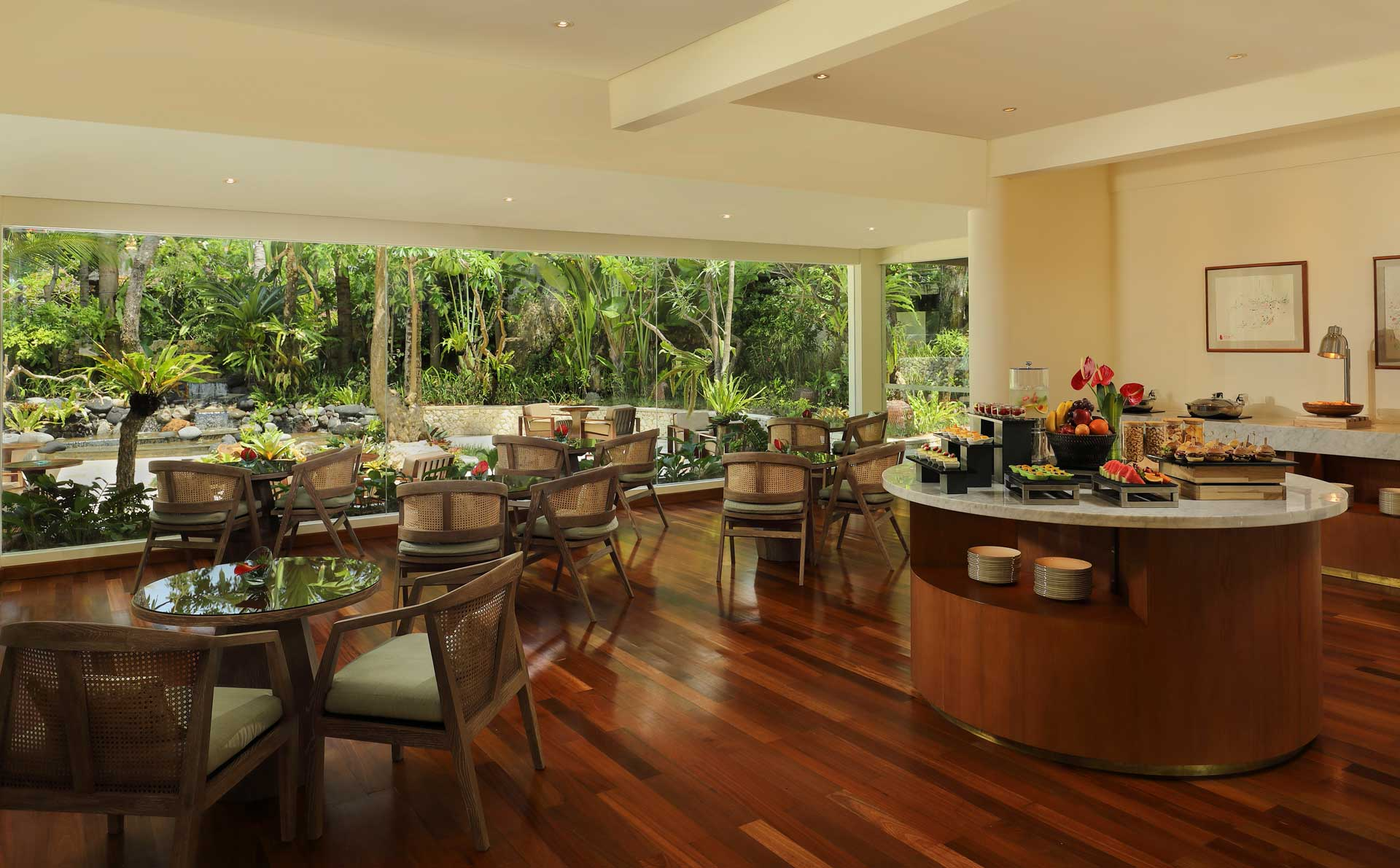 Garden Club Lounge Padma Resort Legian