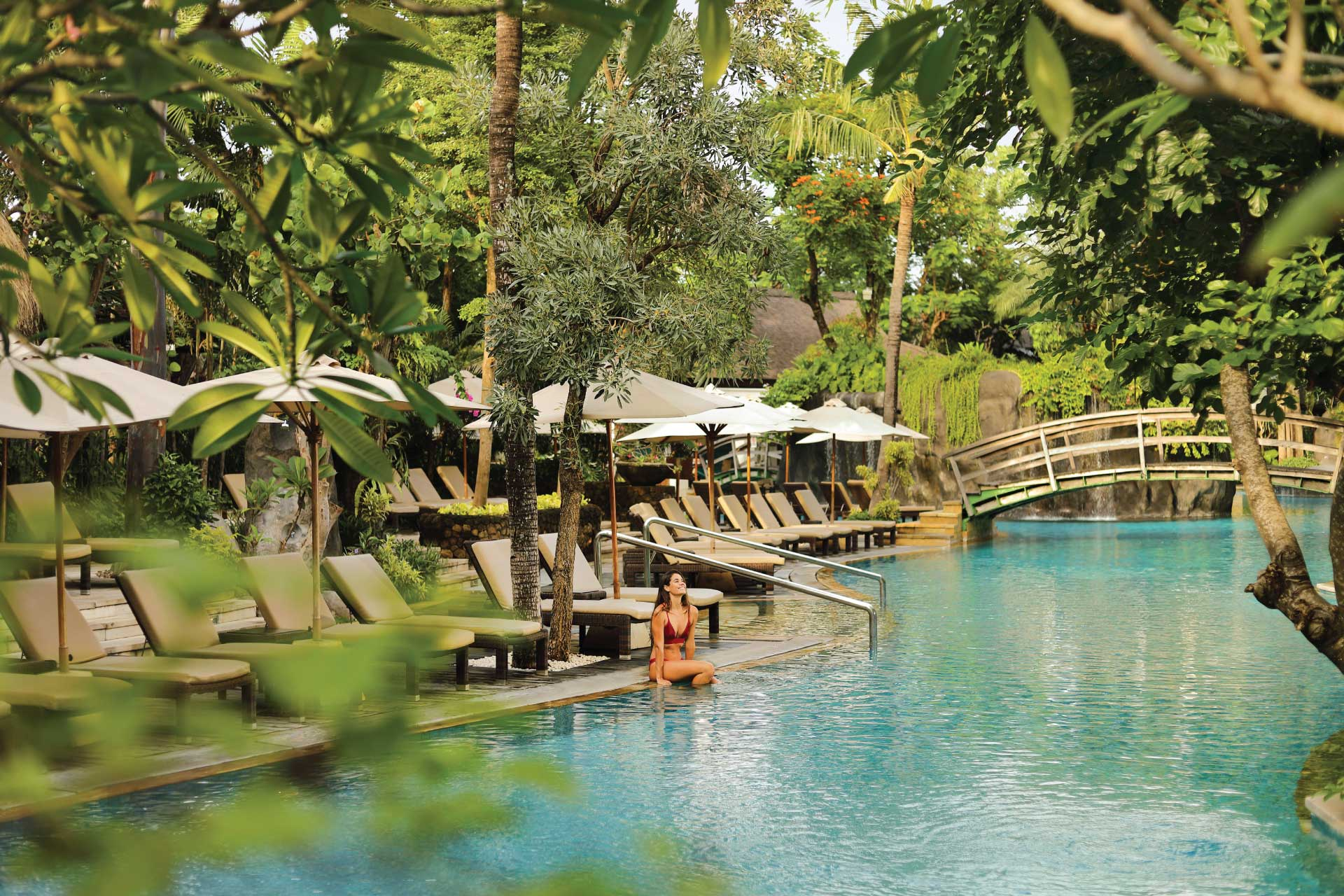 Lagoon Swimming Pool Padma Resort Legian