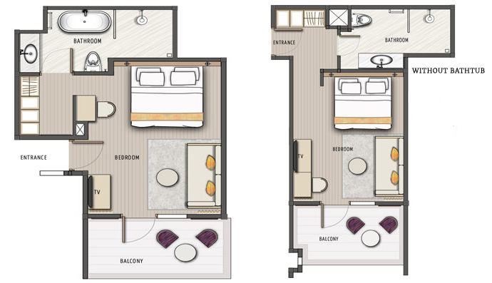 Garden Club Chalet Floor Plan