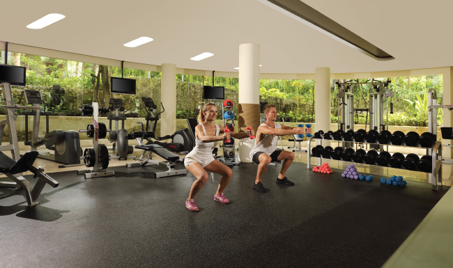 Fitness Centre at Padma Resort Legian
