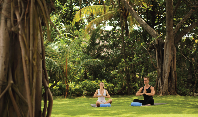Yoga at Padma Resort Legian