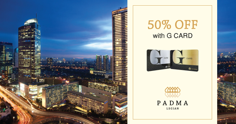 G Card Padma Resort Legian